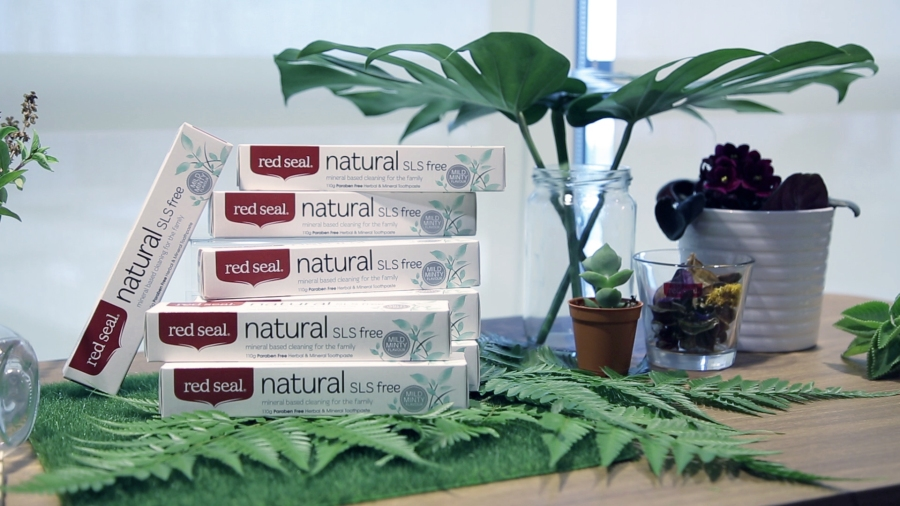 Red Seal Natural SLS Free